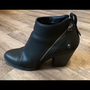 Black Women's Ankle Boots